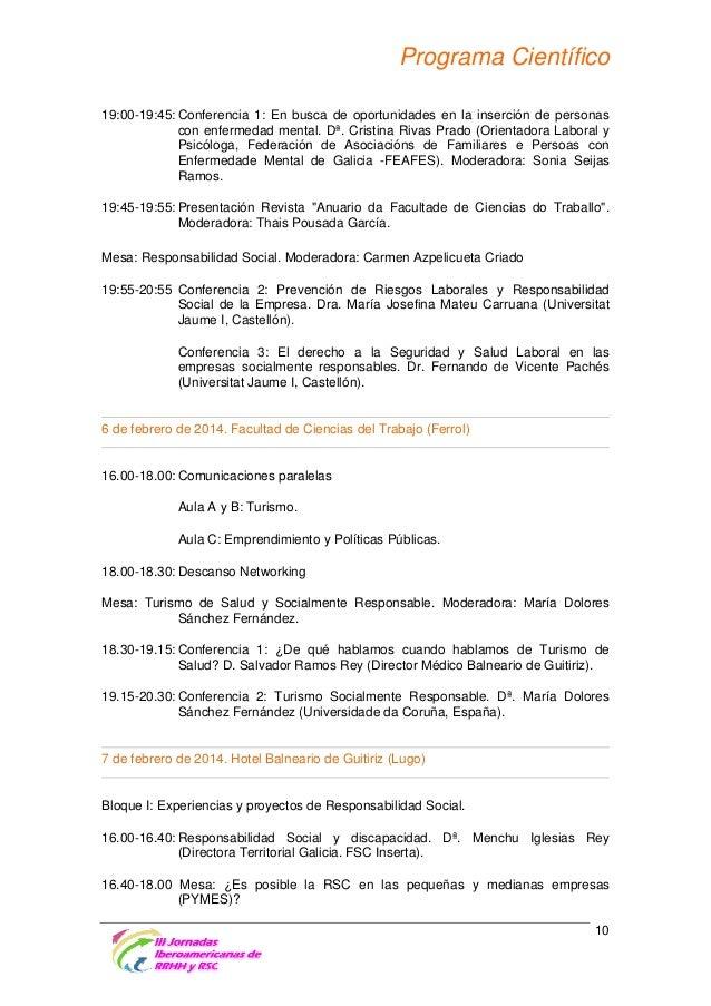 Programa Científico La experiencia de LOIDA Imagen Contemporánea. Dª. Laura Doval Lodeiro (Técnica en Proyecto Sociales y ...