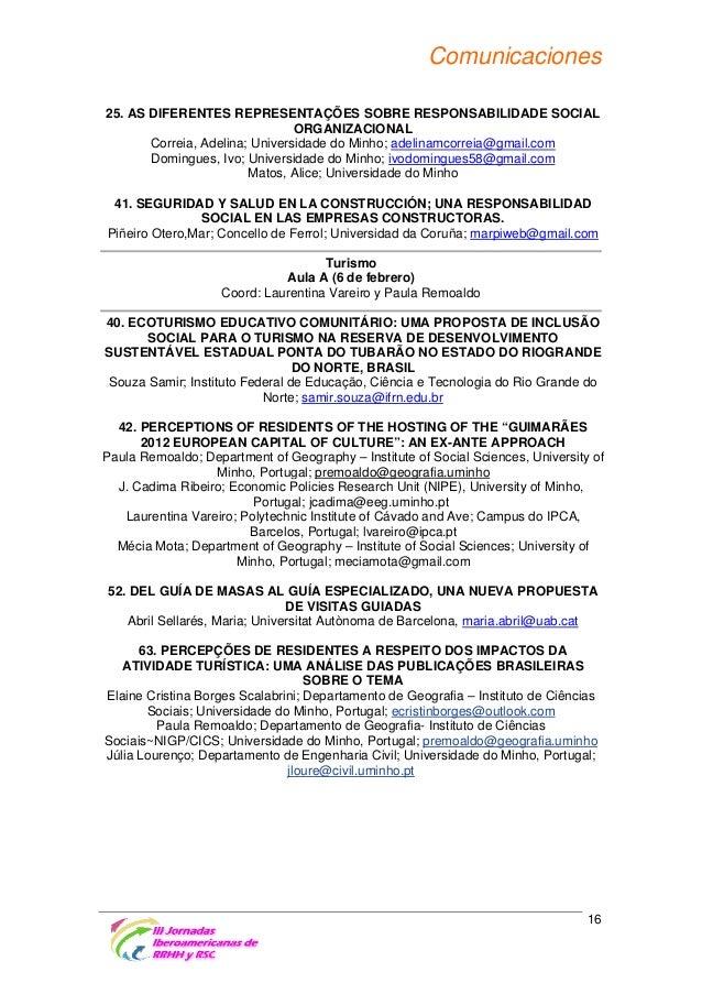 Comunicaciones Turismo Aula B (6 de febrero) Coord: Carmen Azpelicueta Criado y Donária Coelho Duarte 53. EL CRM: UNA ESTR...