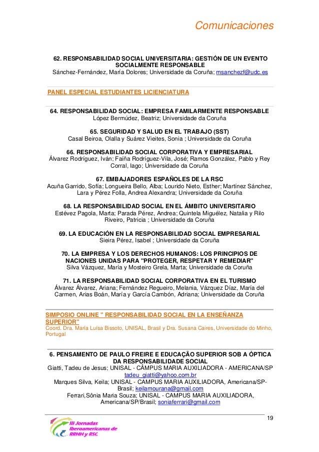 Comunicaciones 10. EDUCAÇÃO POPULAR E EDUCAÇÃO DE ADULTOS Silva Keila, Unisal-Universidade Salesiana de São Paulo - Campus...