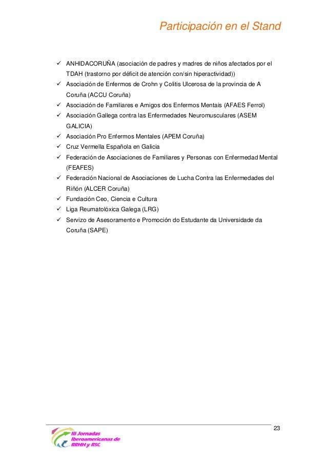 Jornadas Iberoamericanas RRHH y RSC 2015 Referencia de fechas importantes para la próxima edición  30 de abril de 2014  Pr...