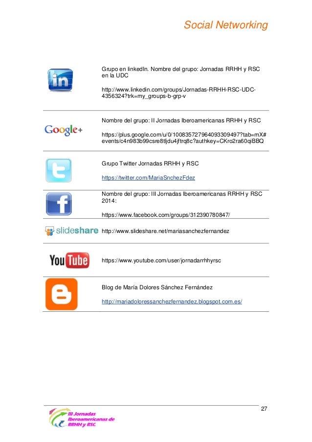 Revistas colaboradoras con las jornadas • Revista de Ciências da Educação Publicación en el primer número de 2014, previst...