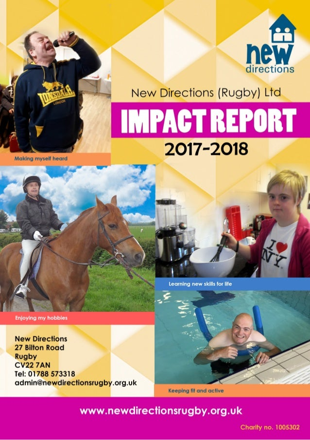 Welcome From Our Chief Executive I am pleased to introduce our latest impact report as we celebrate the 67th anniversary o...