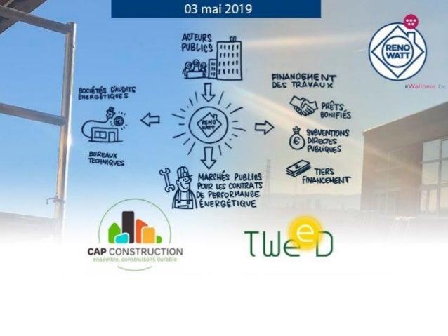 CAP Construction Autorités publiques Formations Architectes Bureaux d'études Entrepreneurs Installateurs Producteurs Fourn...