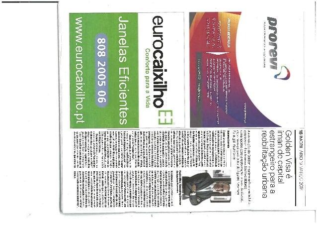 Público - Golden Visa é iman de capital estrangeiro para a reabilitação urbana - Miguel Guedes de Sousa