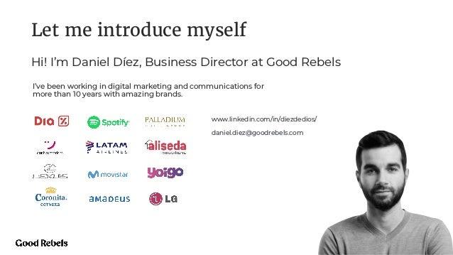 "Webinar: ""Rebuilding your Brand for a Human-Centred World"" Slide 2"