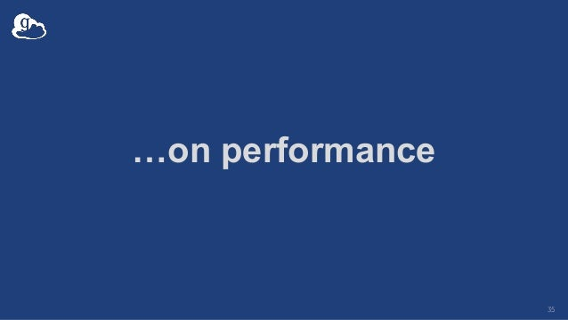 …on performance 35