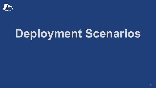 Deployment Scenarios 39