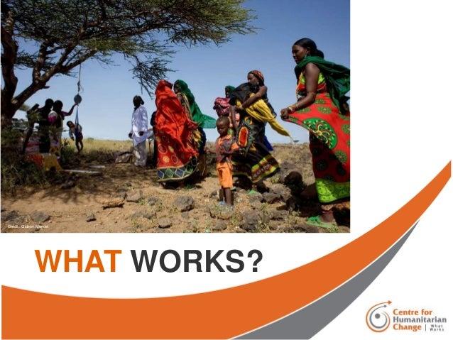 WHAT WORKS? Credit: Gideon Mendel