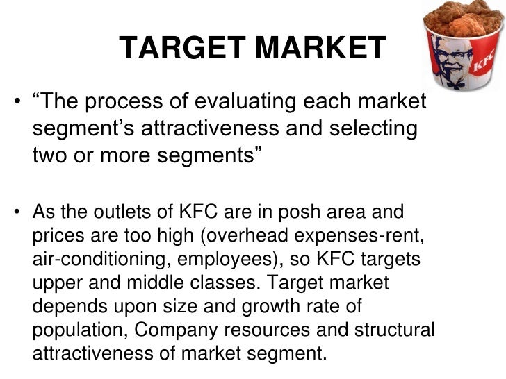 The process of dividing a market into segments is called