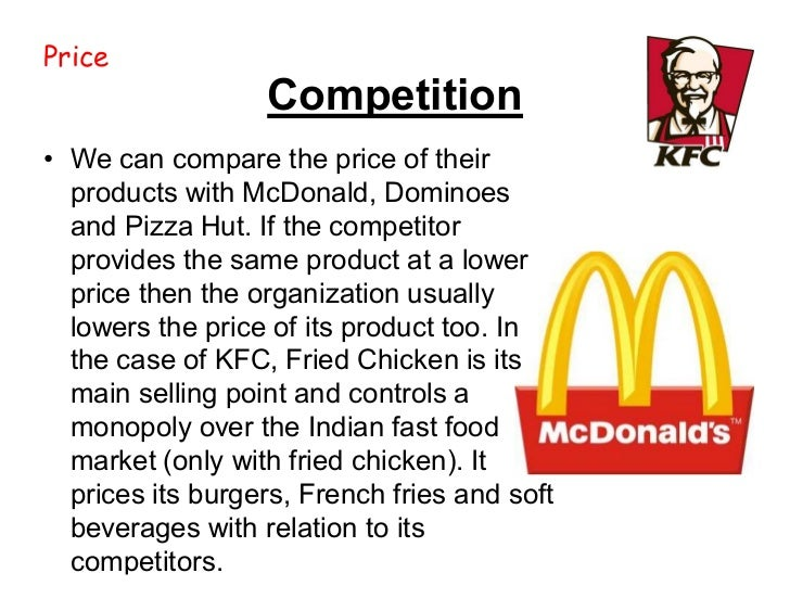 kfc segmentation strategy Porter's generic competitive strategies (ways of competing) a firm's relative position within its industry determines whether a firm's profitability is above or.