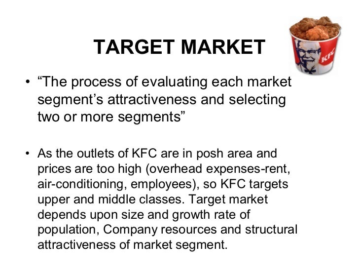 Marketing Plan of KFC