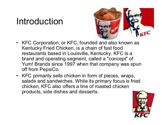 marketing analysis kfc Kfc market analysis - download as word doc (doc), pdf file (pdf), text file (txt) or read online market analysis of kfc.