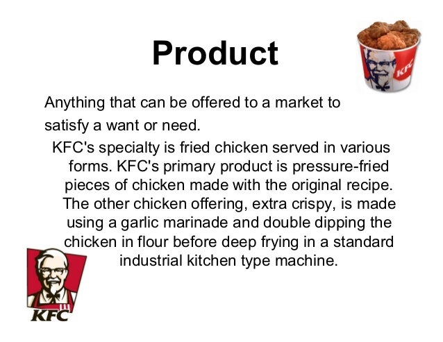 Marketing Mix For A Fast Food Restaurant