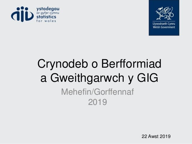 Crynodeb o Berfformiad a Gweithgarwch y GIG Mehefin/Gorffennaf 2019 22 Awst 2019