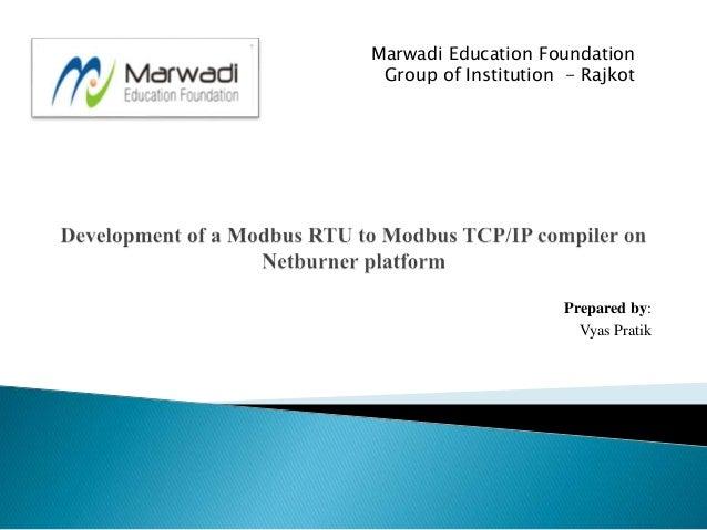 Modbus Protocol Introduction
