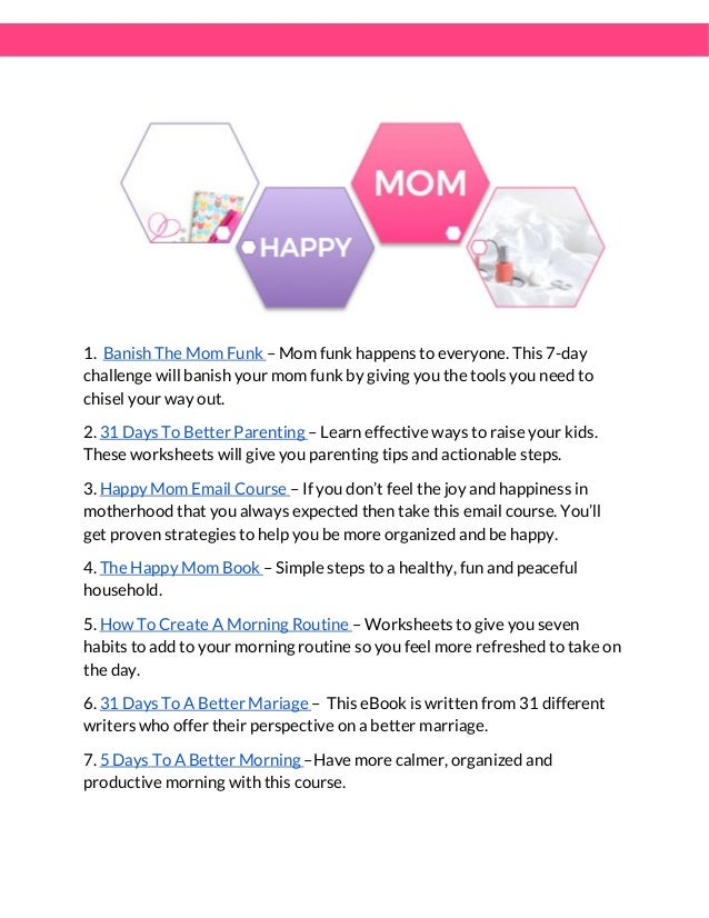 190 Free Mom Blog Resources