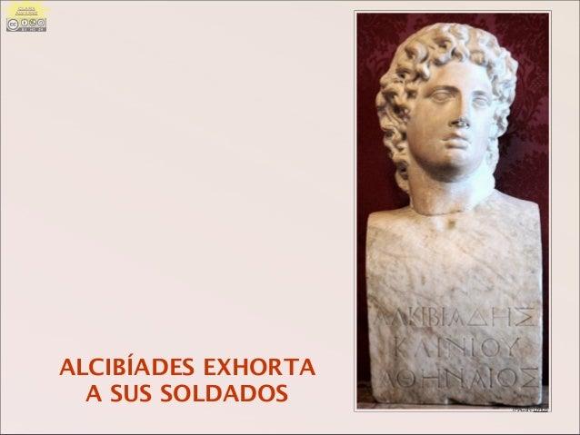 IMAGEN: LIVIUS ALCIBÍADES EXHORTA A SUS SOLDADOS CLARA ÁLVAREZ