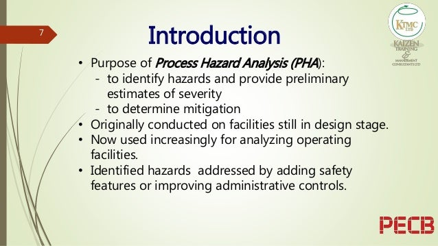 The Effectiveness Of The Hazard And Operability Study