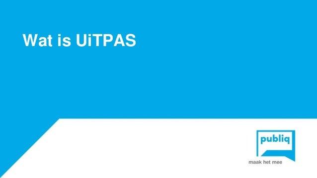 Wat is UiTPAS