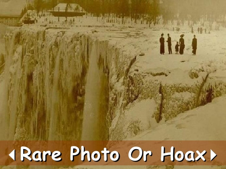 Rare Photo Or Hoax