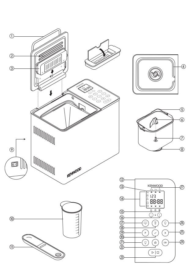 kenwood bm450 manual