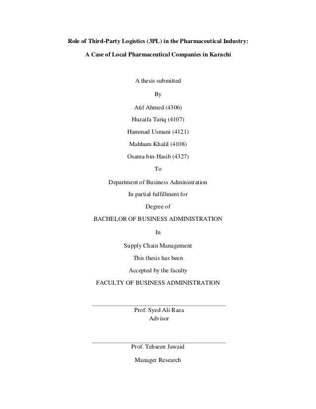 role of logictics essay