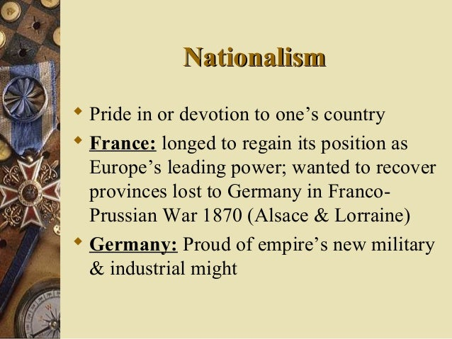 nationalism imperialism and militarism led to world war i pan slavism in eastern europe The immediate cause of world war i that made the aforementioned items come into play (alliances, imperialism, militarism, nationalism) was the assassination of archduke franz ferdinand of austria-hungary in june 1914, a serbian-nationalist terrorist group called the black hand sent groups to assassinate the archduke.