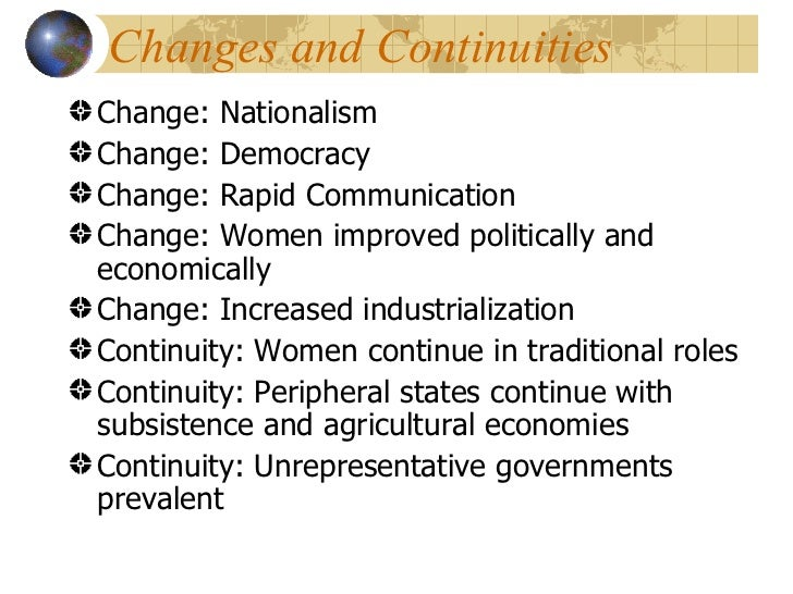 ap world history continuity and change essay questions