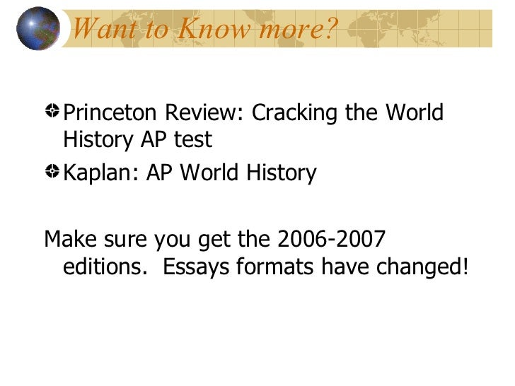 ap world history continuities and changes over time essay rome Ap world cot japan essay japan is a small island although japan changed in many ways from 1853 to 1941, there were also many factors that remained the same throughout the history of japan one such continuity was essay about continuity and change over time - 1450's/1750's 638 words | 3.