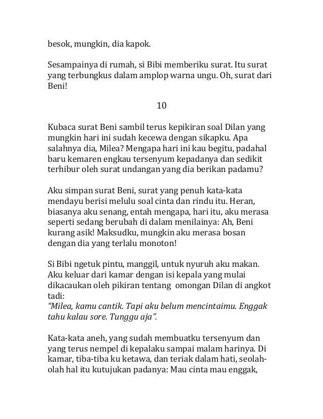 191626825 Dilanku Dia Adalah Dilanku Karya Pidibaiq 2013