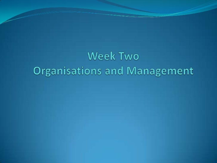 By the end of this class you will have: Gained understanding of the systems view of  organisations and the implications f...