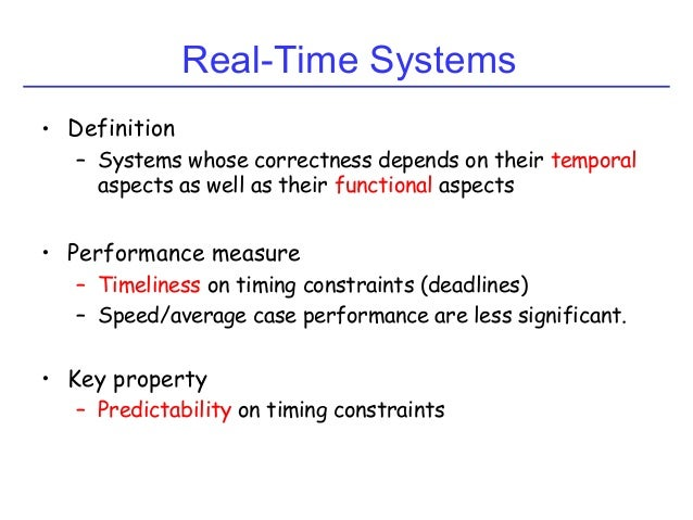 Real-Time Scheduling Slide 3