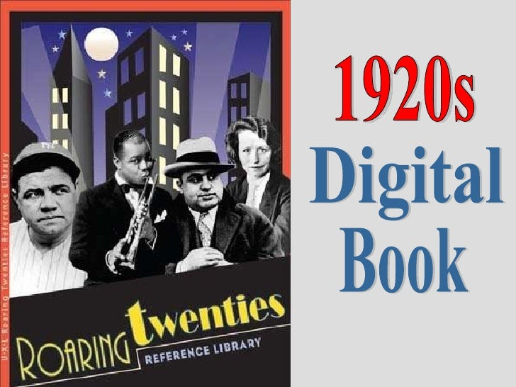 1920s Digital Book