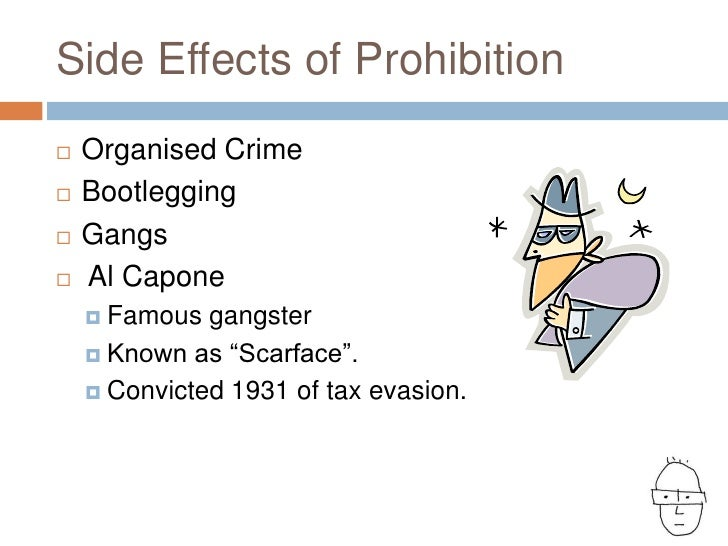 effects of organized crime in the 1920s
