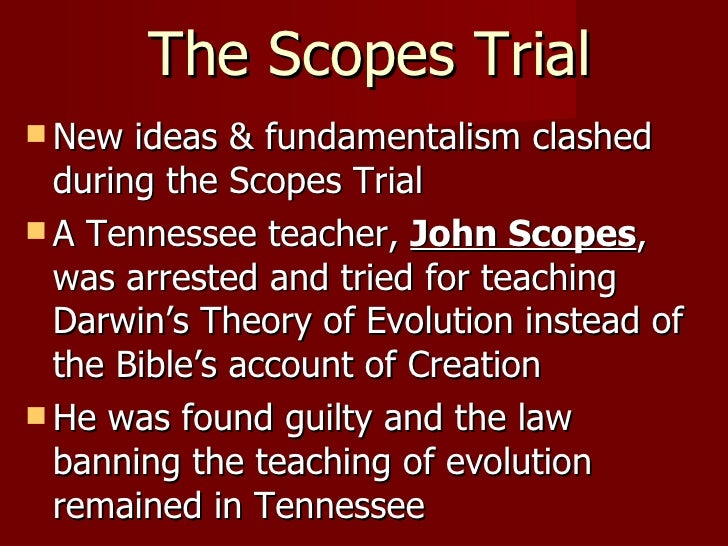 trials and verdicts