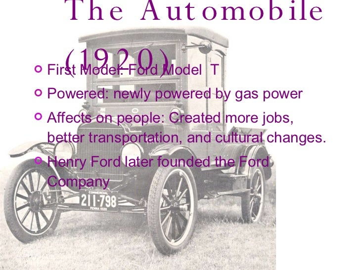 1920'S Inventions