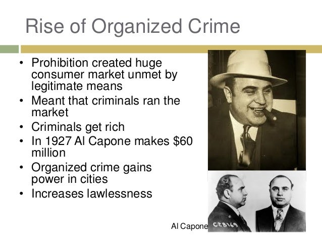 crime during the 1920s