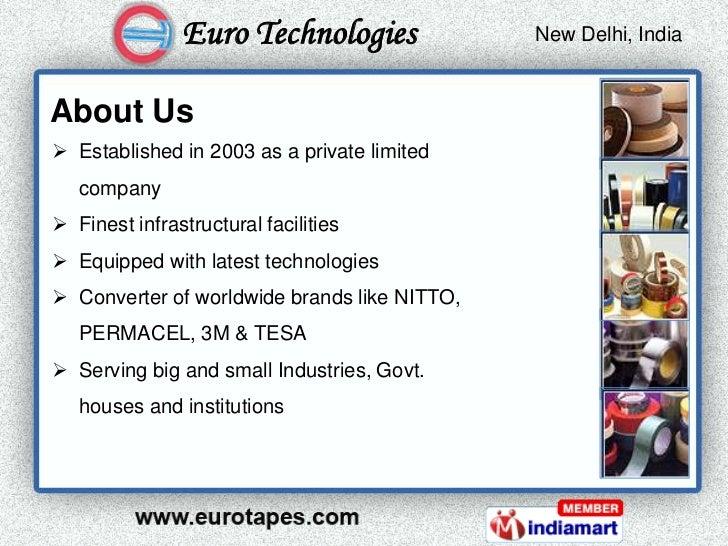 Euro Technologies              New Delhi, India                                               Kolkata, IndiaAbout Us Esta...