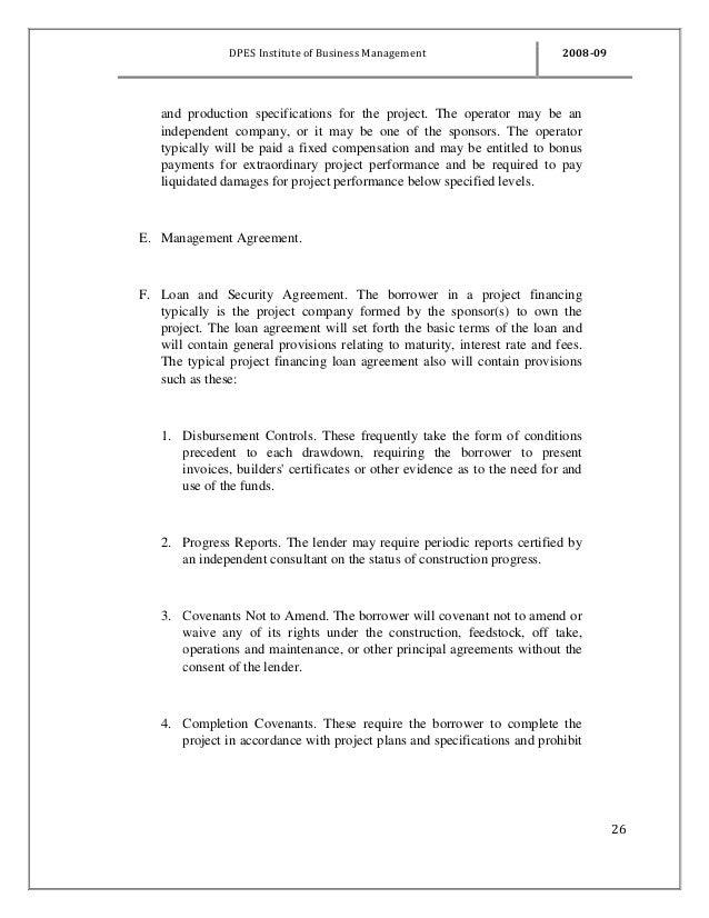 Basic Loan Agreement