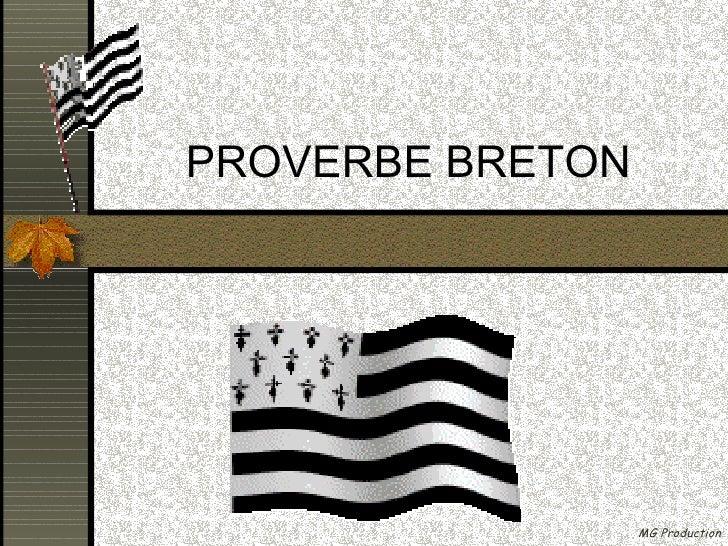 PROVERBE BRETON