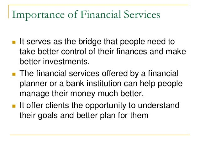 the importance of financial information The role of financial statements in managerial decision making the role of financial statements in managerial decision of the most important documents for.