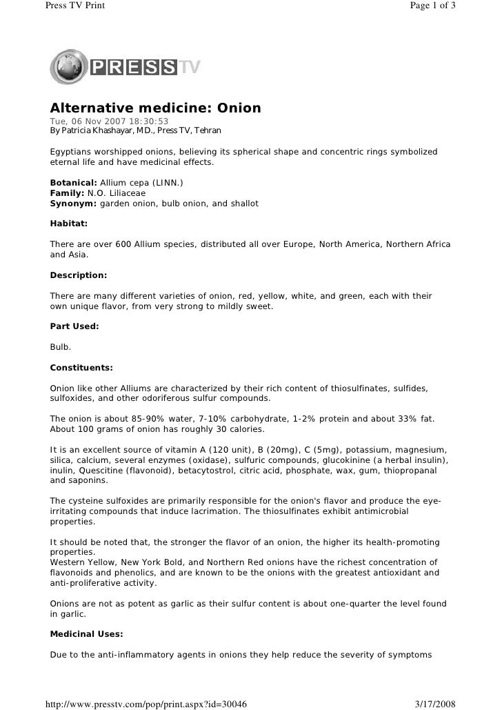 Press TV Print                                                                           Page 1 of 3      Alternative medi...