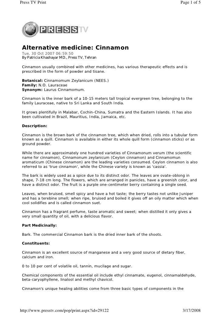 Press TV Print                                                                        Page 1 of 5      Alternative medicin...