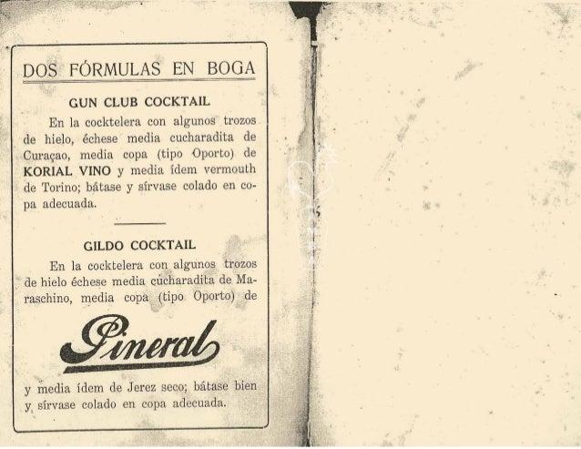 1924 manual del bar Slide 2