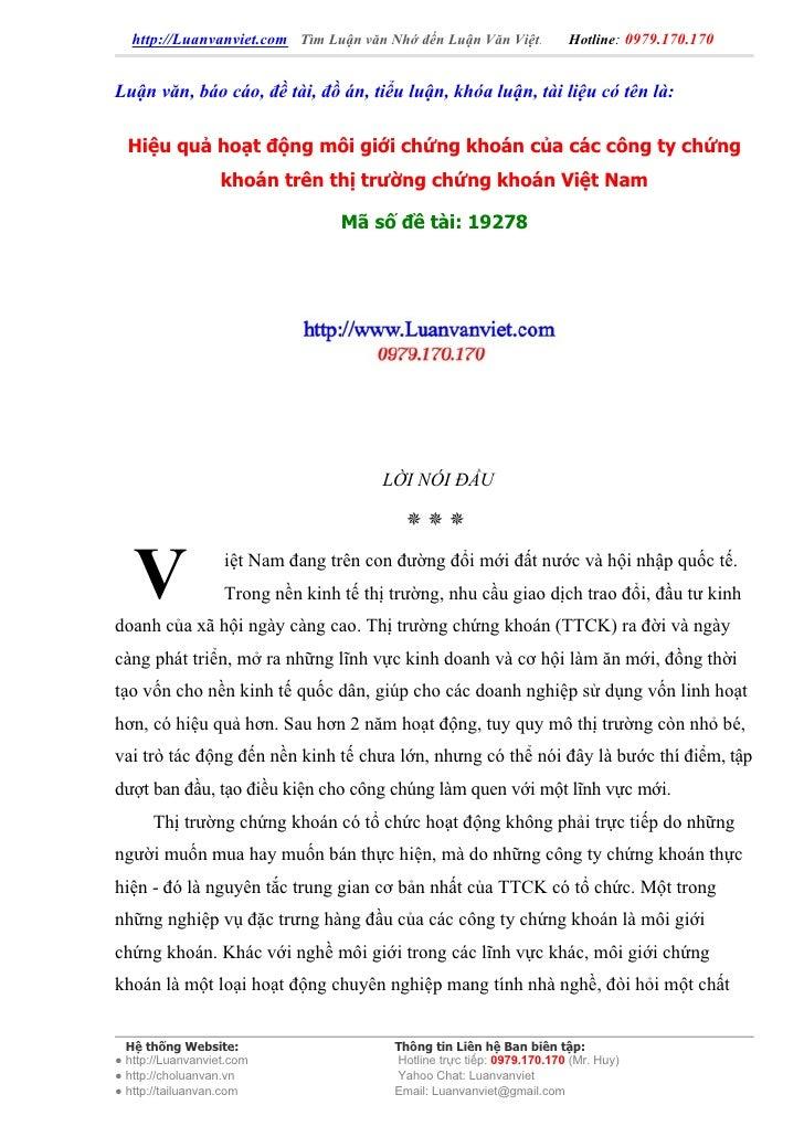 http://Luanvanviet.com Tìm Luận văn Nhớ đến Luận Văn Việt.           Hotline: 0979.170.170   Luận văn, báo cáo, đề tài, đồ...