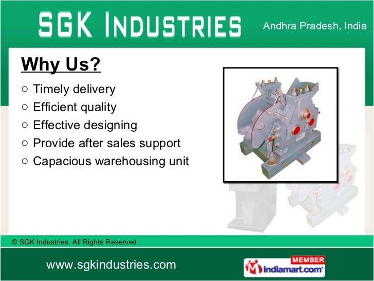SGK Industries Andhra Pradesh India Slide 3