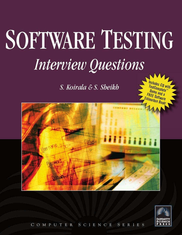 SOFTWARE TESTING   Interview Questions                                                      Include            S. Koirala ...