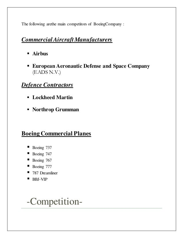 mgmt335 case study boeing versus airbus Boeing 7e7 case study solution essay aerospace company and leading manufacturer of commercial jetliners and defense essay on airbus vs boeing.
