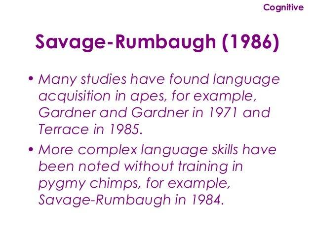 Savage-Rumbaugh Test | Quiz - goconqr.com