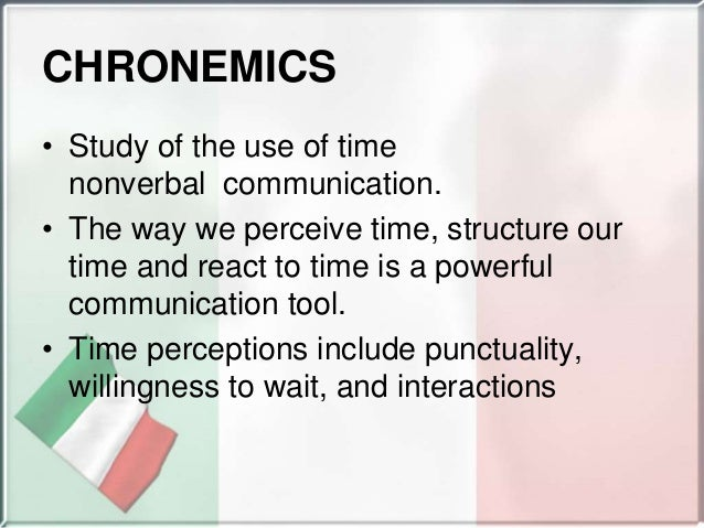 chronemics ppt